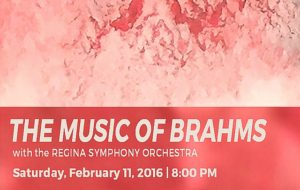 THE MUSIC OF BRAHMS – February 11, 2017