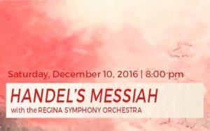 HANDEL'S MESSIAH – December 10, 2016